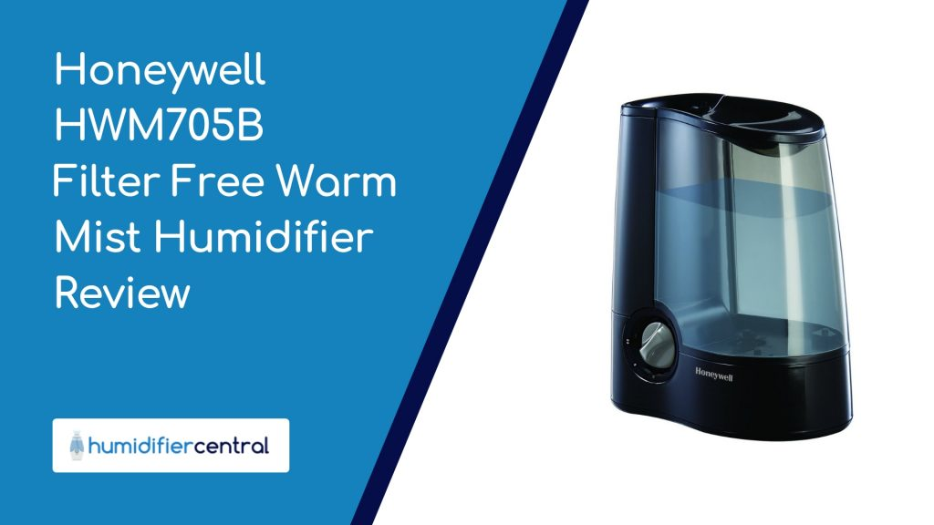 Honeywell HWM705B Filter Free Warm Mist Humidifier Review