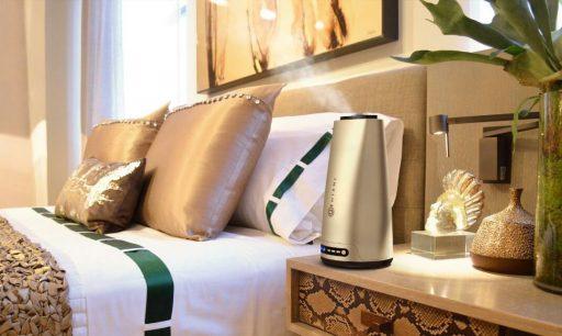 GENIANI Ultrasonic Cool Mist 2L Humidifier Aroma Box
