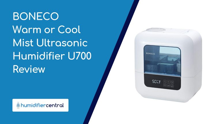 BONECO Warm or Cool Mist Ultrasonic Humidifier U700 Review