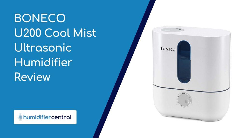 BONECO U200 Cool Mist Ultrasonic Humidifier Review