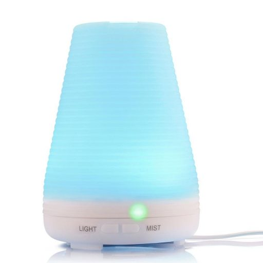 KOBWA Portable Cool Mist Ultrasonic Aroma Humidifier